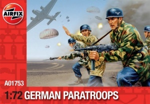 Airfix ,01753 WWII German Paratroops 1/72 Scale