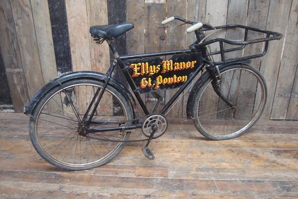 A Tradesmans Delivery Bike