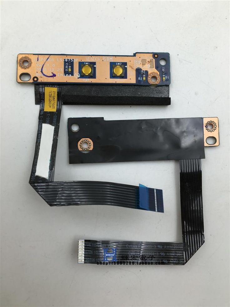 New For Lenovo  G470 G475 Power On Switch Board LS-6753P