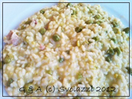 RIce with Peas http://www.svolazzi.it/2012/07/risotto-con-piselli-di-borso-risi-e.html#more