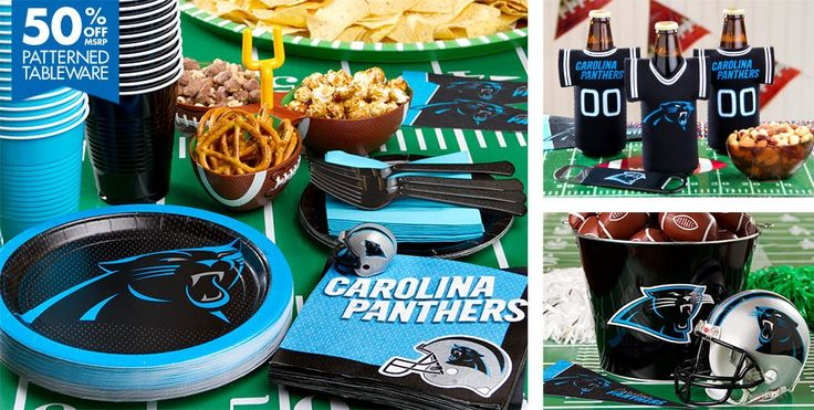 Panthers Party Supplies #1