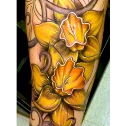 Narcissus Tattoo on Pinterest | Birth Flowers Birth Flower Tattoos ...