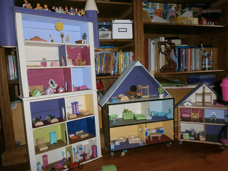 17 meilleures images propos de maison de poupee sur pinterest lalaloopsy playmobil et atelier. Black Bedroom Furniture Sets. Home Design Ideas