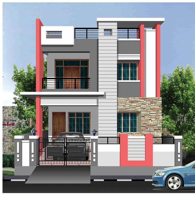 Pin By Babu Poomalai On Elevation House Design House House Front