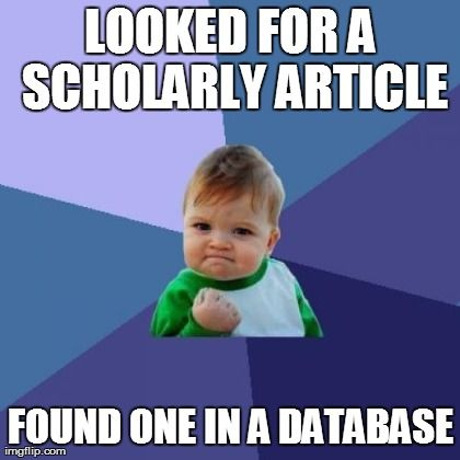 Image result for scholarly article meme