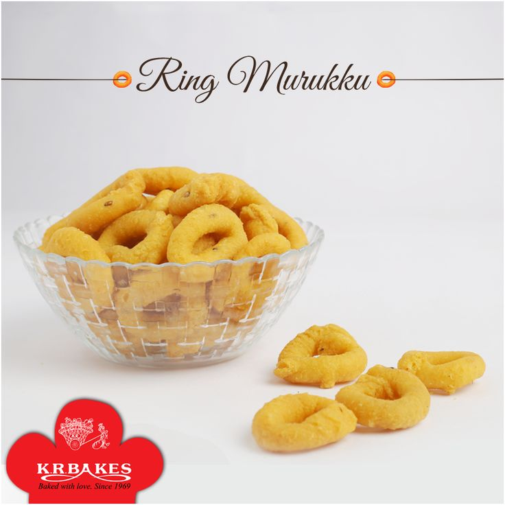 Relishing the crispness on all occasions.  #KRBakes #KRBakesSince1969 #BakedWithLove #Murukku