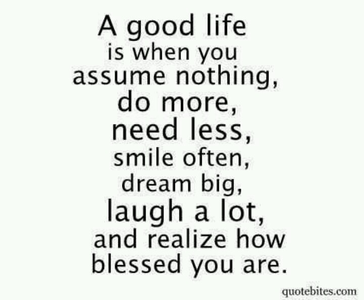 good life #blessed #truth #quotes | Being a Mom... | Pinterest