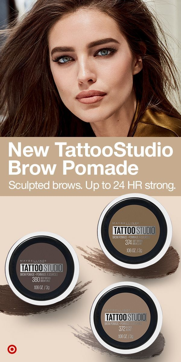 Maybelline Tattoo Studio Brow Pomade 0 106oz Brow Pomade Maybelline Tattoo Makeup