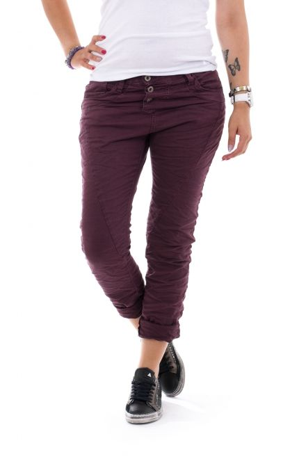 Please Jeans P78 - Burgundy