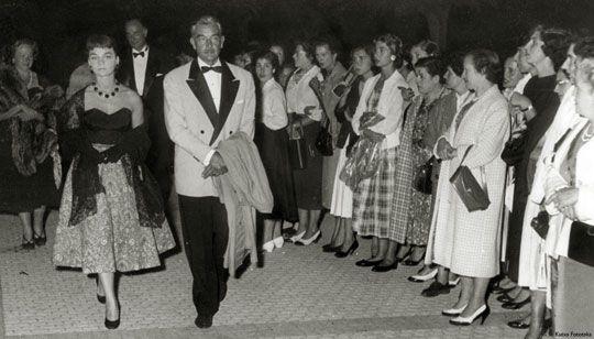 Silvia Morgan, Rolf Wanka, 1956