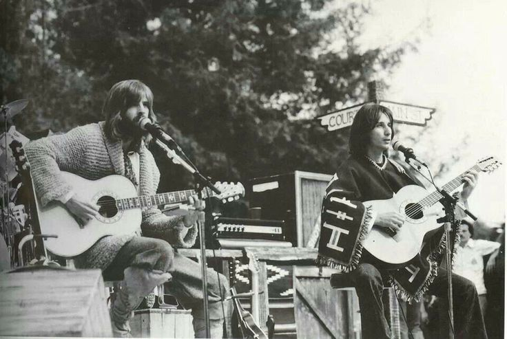 Kenny Loggins (left) & Jim Messina - strong songwriting vocal duo from the '70s.  Jim had a great pedigree as a member of Buffalo Springfield and co-founder of Poco. Kenny went on to a successful solo career.