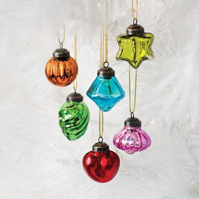 Mini Mercury Glass Ornaments - Unicef Cards & Gifts