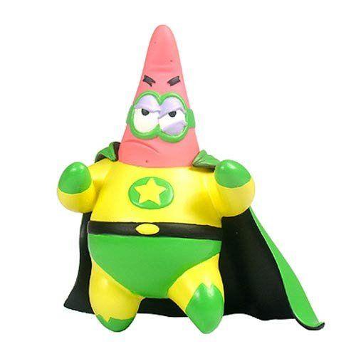 SpongeBob SquarePants Superhero Patrick Mini-Figure @ niftywarehouse.com #NiftyWarehouse #Spongebob #SpongebobSquarepants #Cartoon #TV #Show