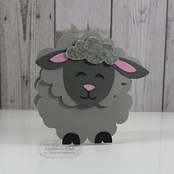 Sack It Lamb Card by Stephanie Kraft #Cardmaking, #Easter, #SackittoYou…