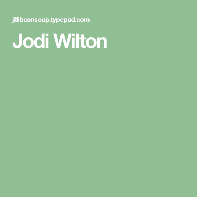 Jodi Wilton