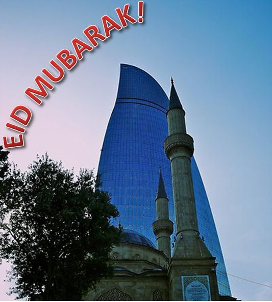 Eid Mubrak, dear Muslim brothers and sisters!