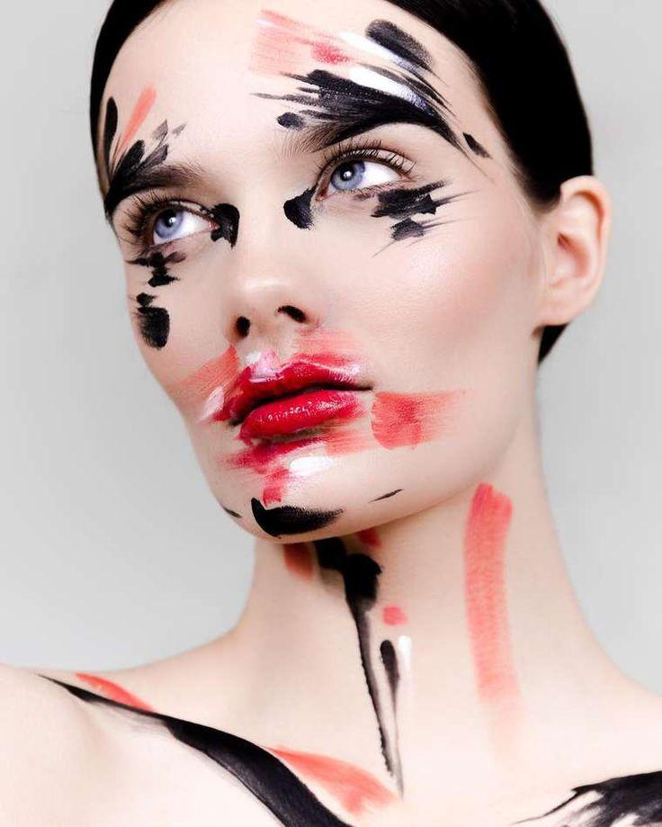 Une sélection des maquillages créatifs de l'artiste et maquilleuse professionnelle finlandaise Ida Ekman, basée à Londres, qui imagine ses créations comme