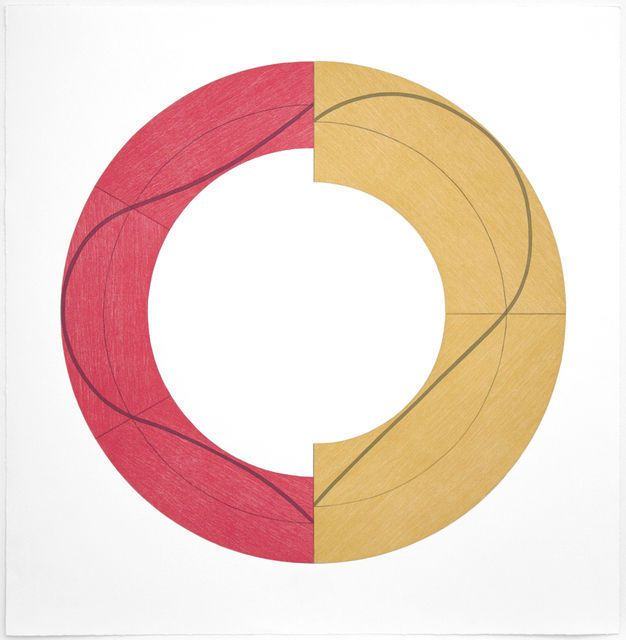 Robert Mangold, Split Ring Image C (2009)