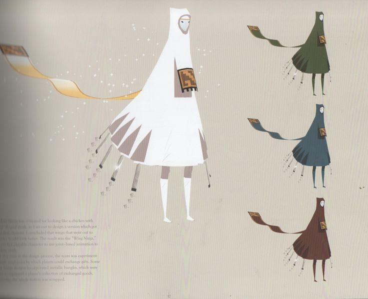 Art and Illustrations by Matthew Nava Journey belongs to That Game Company