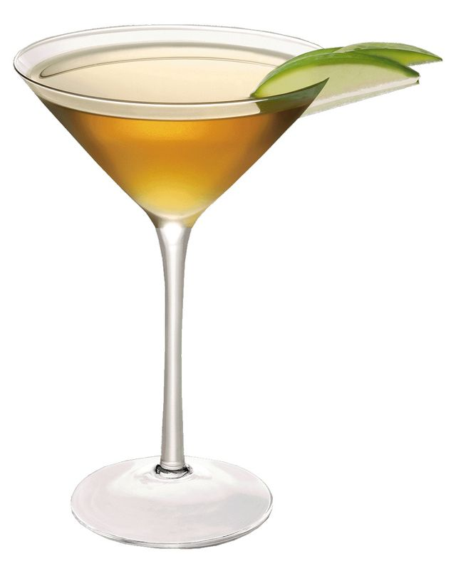 Aged tequila meets Cognac in a twist somewhere between the margarita and the martini and it is a very fine Departini.