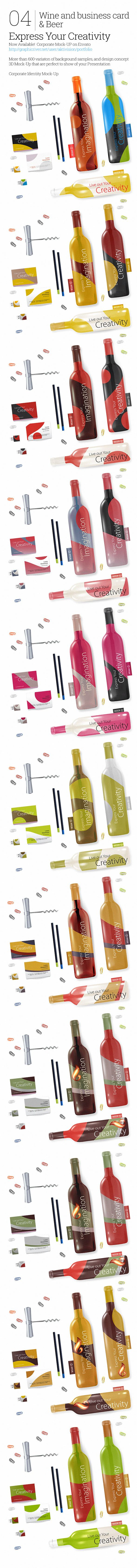 04 Wine and business card by aktivision2015 on DeviantArt