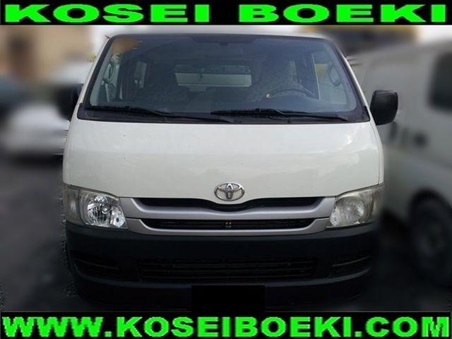 Export Japanese Used Van Minivan Van Minivan Hiace Van 15 Seater