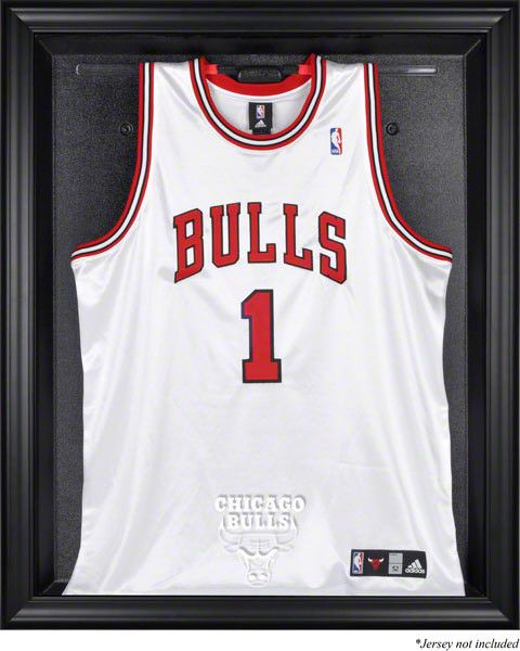 Chicago Bulls Framed Logo Jersey Display Case