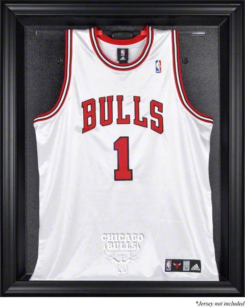 Chicago Bulls Framed Logo Jersey Display Case
