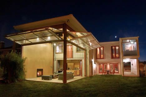 shipping container house: Idea, Beaches House, Dream, Garage Doors, Container Houses, Ships Container Homes, Shipping Container Homes, Ships Container House, Shipping Containers