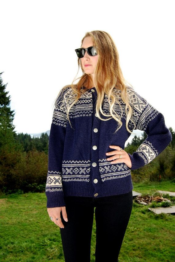 Vintage 70's Norwegian sweater by TRONDERSTUA