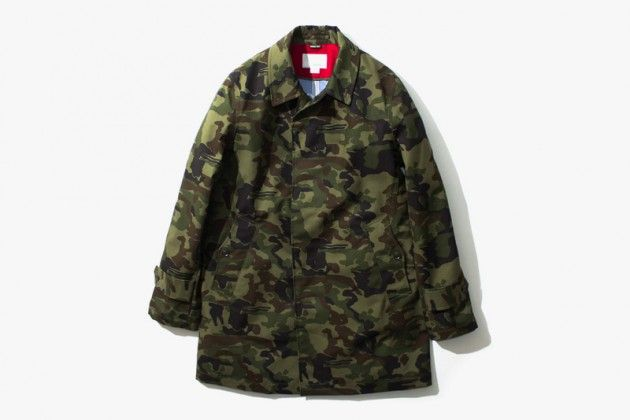 nanamica Fall/Winter 2013 Camouflage GORE-TEX Outerwear • Highsnobiety