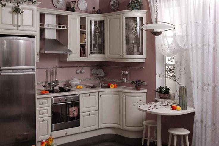 Дизайн маленькой кухни фото 2015 современные идеи от мебели до декора