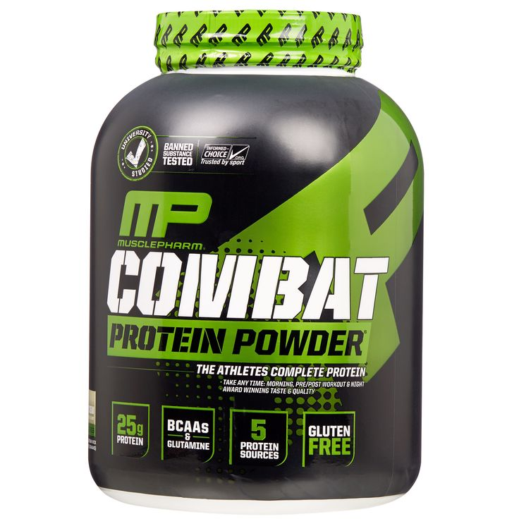 Muscle Pharm Combat Cookies & Cream Protein Powder 5-pounds
