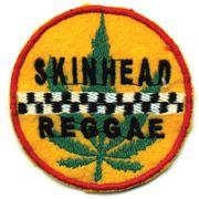 SKINHEAD REGGAE Parche bordado disponible en www.skinsandpunks.com