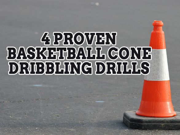 It takes a lot of practice to be a good ball handler in basketball. These four proven basketball cone dribbling drills will help you master your technique.