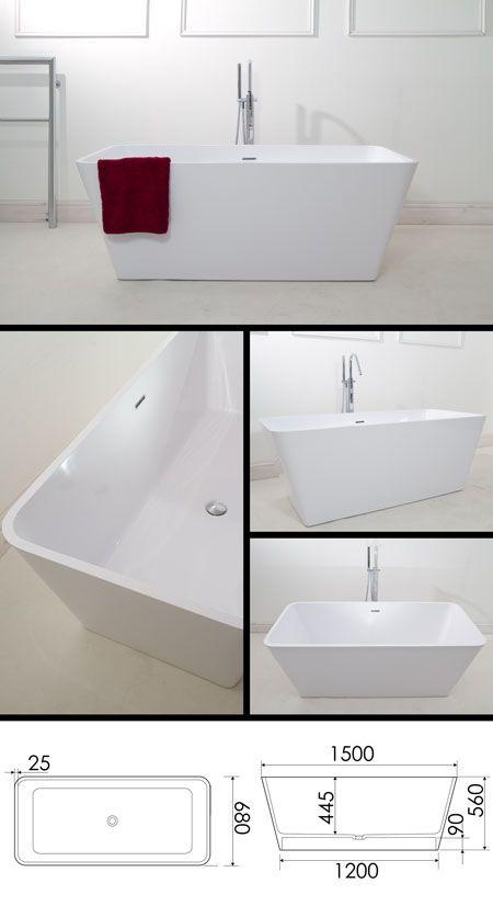 Mini Square Bath (26W)