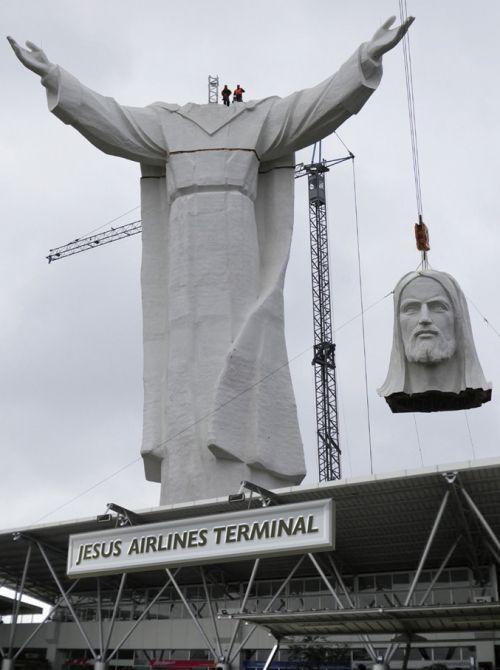 JESUS AIRLINES - The Terminal by brandpowder