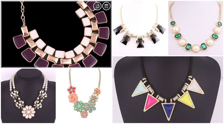 Buy Statement Necklaces Jewellery Online in India at Trendymela.com