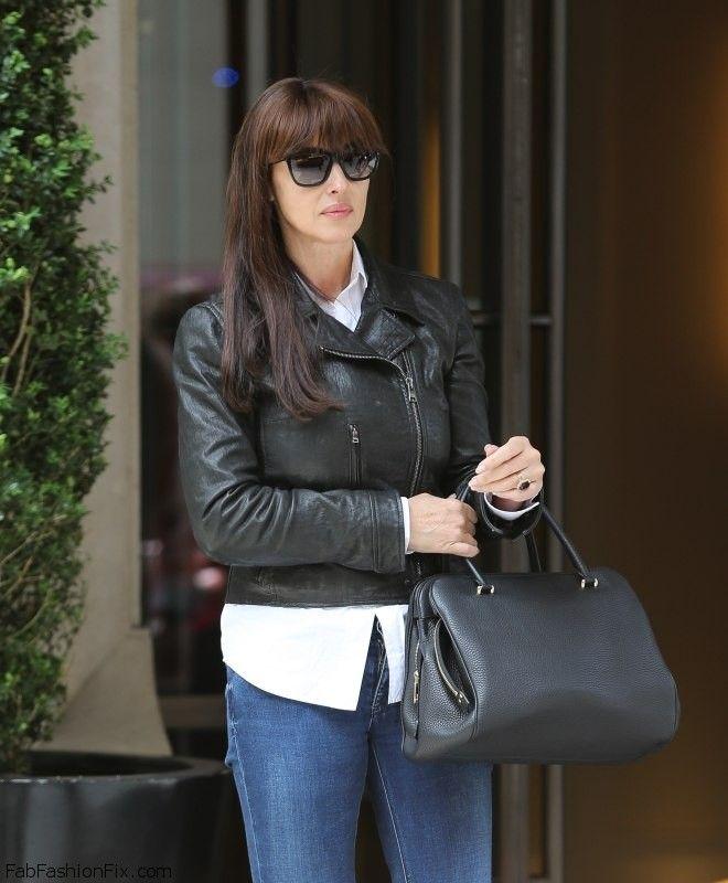 Monica Bellucci street style | Monica Bellucci Fashion ...