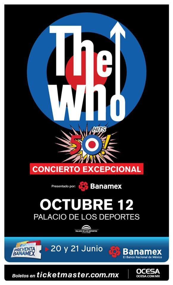 ¡THE WHO LLEGA A MÉXICO!
