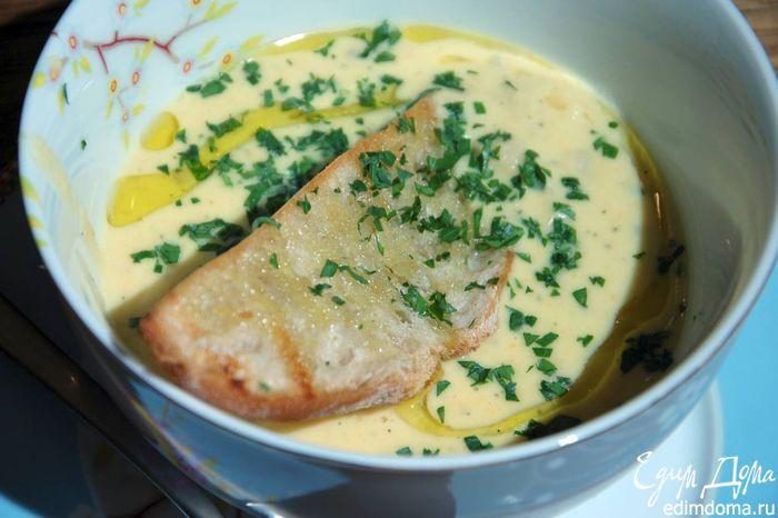 Рецепт сырного супа от высоцкой