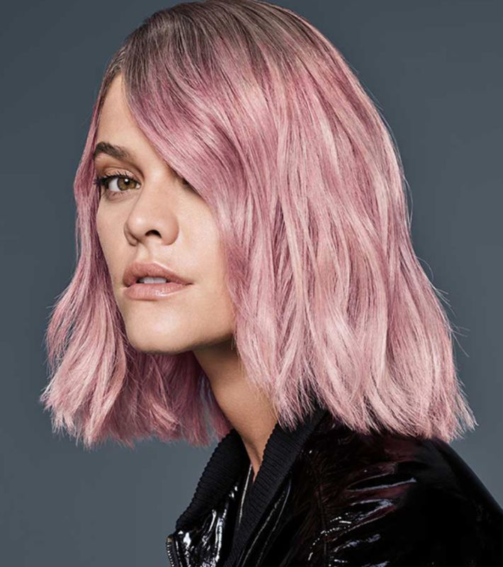 Need a little color in your life? From soft lilac to vibrant pastel blue, cotton candy hues are having a moment. Whether you opt for peekaboo pastel highlights or all-over color, this trend is an easy way to liven up those gray, stormy winter days.