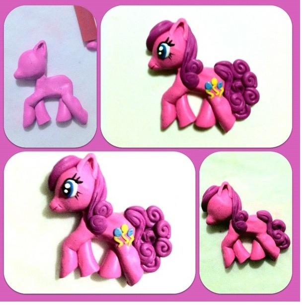 my little pony  porcelana fria polymer clay