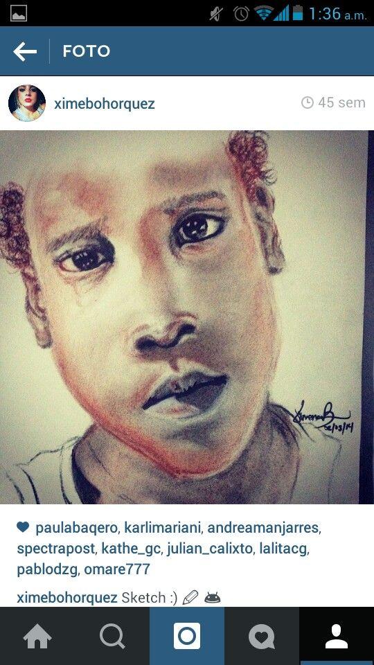 #draws #tattoodesign #child #art #charcoal #ximenabohorquez