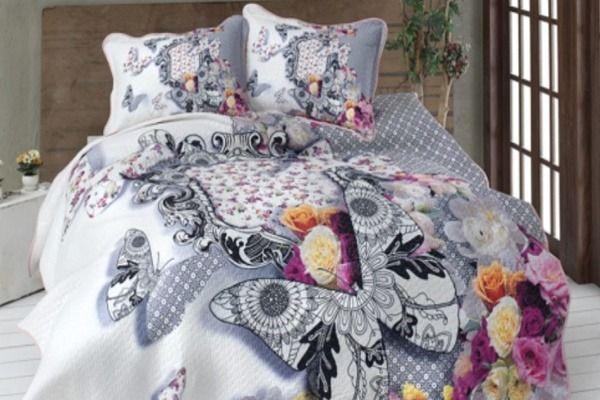 3 Boyutlu Yatak Örtüsü Modellerine Bayılacaksınız ! | Dekorasyon Önerileri