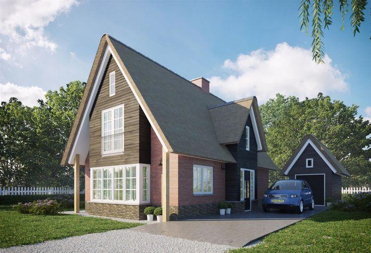 Voor Buitenhuis Villabouw hebben wij landelijke woningen en eigentijdse villa's…