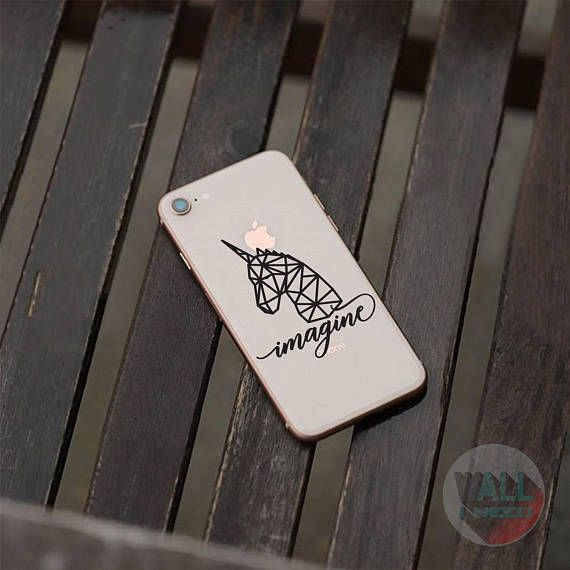 Check out this item in my Etsy shop https://www.etsy.com/listing/546153976/imagine-unicorn-iphone-sticker-iphone