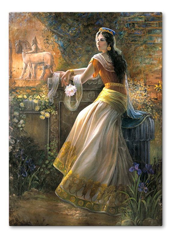 Amitis - Shahbanu Wife of Cyrus the Great http://www.pinterest.com/yaldashab/women-of-persia/