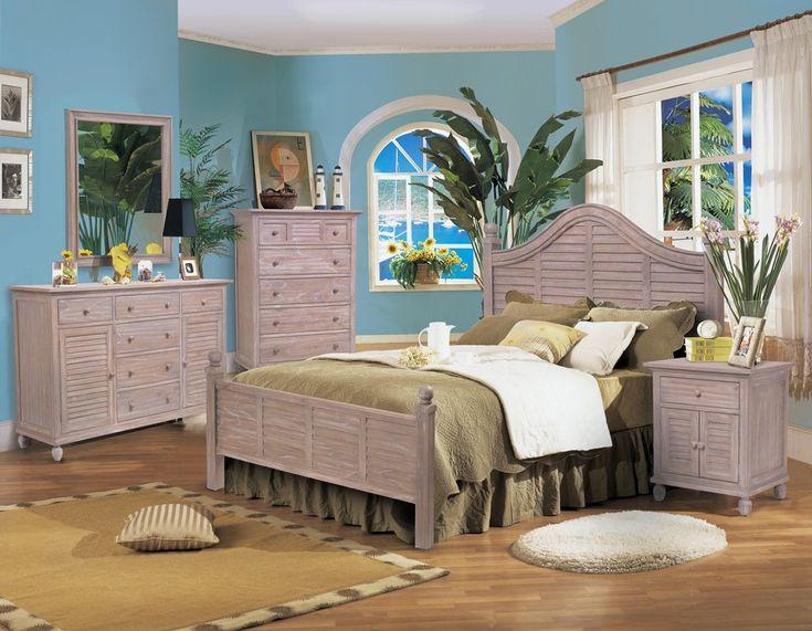 Painted Wicker Bedroom Furniture