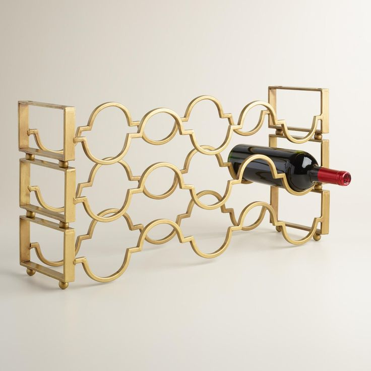25 Best Ideas About Countertop Wine Rack On Pinterest